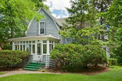 Glen Ellyn Single Family Home For Sale: 783 North Main Street