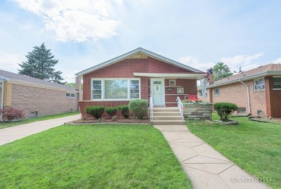 Evergreen Park Single Family Home For Sale: 9306 South Springfield Avenue