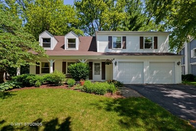 Naperville Single Family Home Contingent: 409 Blue Grass Court