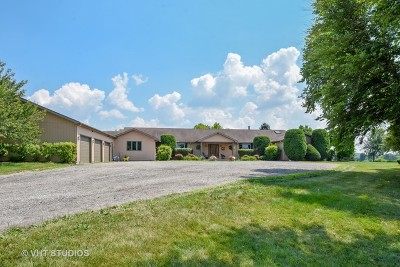 McHenry Single Family Home For Sale: 6611 Bull Valley Road