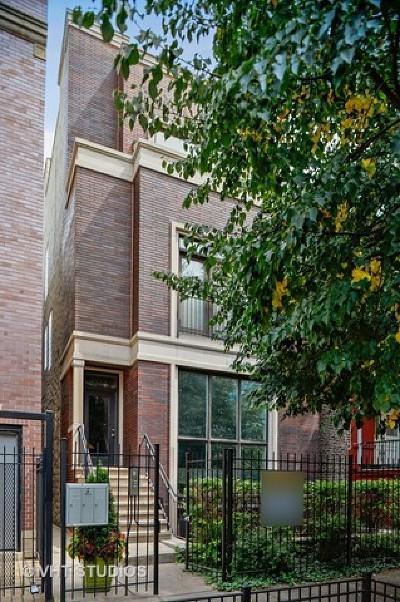 Chicago Condo/Townhouse New: 1523 North Claremont Avenue #3