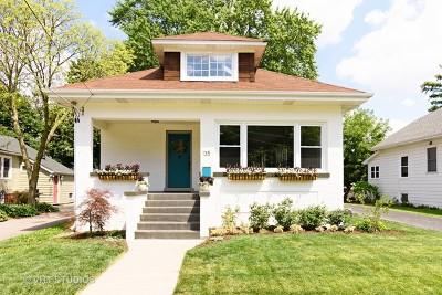 Palatine Single Family Home For Sale: 135 North Cedar Street