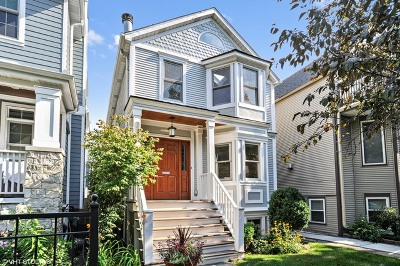 Single Family Home For Sale: 1220 West Nelson Street