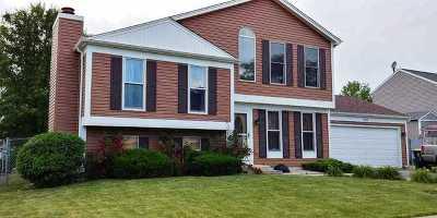 Carol Stream Single Family Home For Sale: 759 Cypress Lane