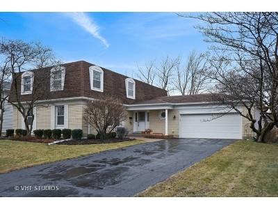 Palatine Single Family Home For Sale: 1124 West Illinois Avenue