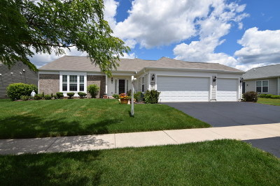 Huntley Single Family Home For Sale: 14482 Burgundy Way