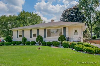 Wheaton Single Family Home For Sale: N333 Pleasant Hill Road