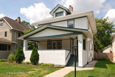 Oak Park Single Family Home For Sale: 635 North Ridgeland Avenue