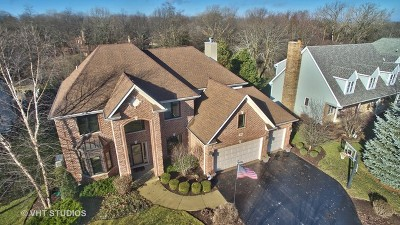 Lake Zurich Single Family Home Contingent: 145 Beech Drive