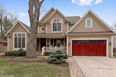 Downers Grove Single Family Home For Sale: 5918 Grand Avenue