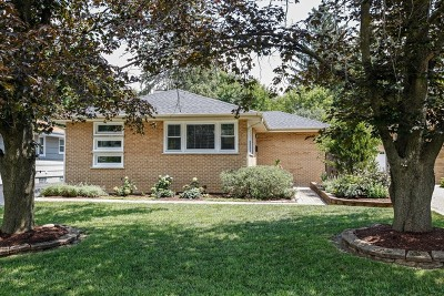 Downers Grove Single Family Home Contingent: 5705 Webster Street