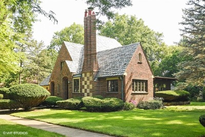Palatine Single Family Home For Sale: 307 North Bothwell Street