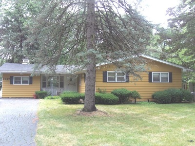 Darien Single Family Home Price Change: 6929 Clarendon Hills Road