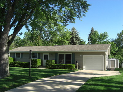 Carol Stream Single Family Home Contingent: 155 Shawnee Drive