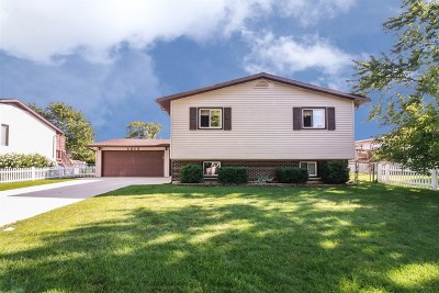 Hanover Park Single Family Home Contingent: 1213 Old Mill Lane