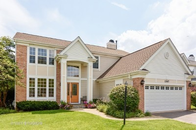 Palatine Single Family Home For Sale: 1367 North Mill Court