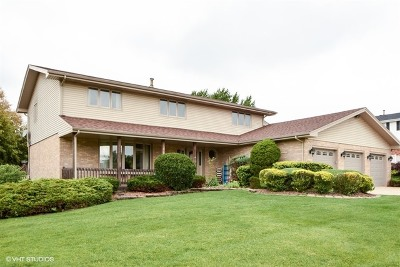 Mokena Single Family Home Contingent: 18804 Meadowview Drive