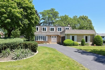 Oak Brook Single Family Home Contingent: 19w153 Avenue Chateaux Avenue North