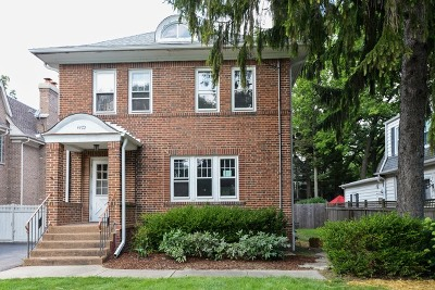 Winnetka Single Family Home For Sale: 1473 Edgewood Lane