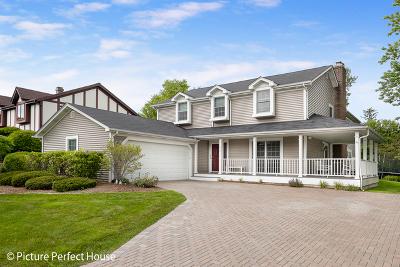 Glen Ellyn Single Family Home For Sale: 22w210 McCarron Road