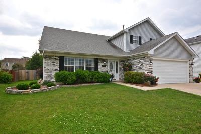 Carol Stream Single Family Home Contingent: 1141 Spring Valley Dr Avenue