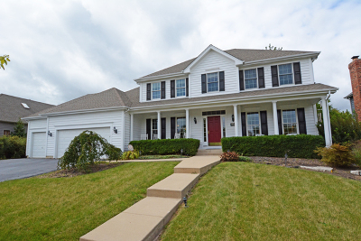 St. Charles Single Family Home For Sale: 40w148 Carl Sandburg Road