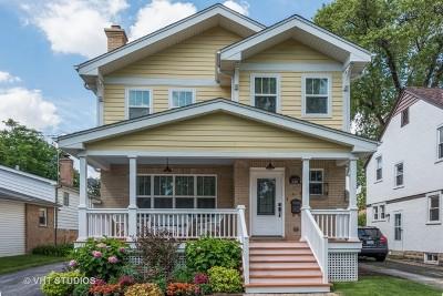 Highland Park Single Family Home For Sale: 626 Pleasant Avenue