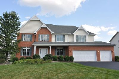 Hoffman Estates Single Family Home Re-activated: 1315 Caribou Lane