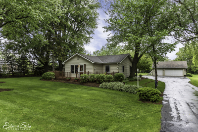 McHenry Single Family Home Contingent: 6906 Mason Hill Road