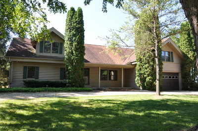 Marengo Single Family Home Contingent: 19117 River Road