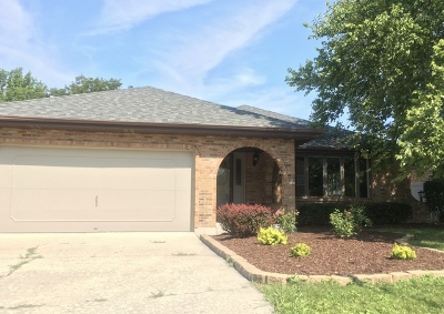 Oak Forest Single Family Home Contingent: 6948 Westview Drive