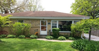 Wilmette Single Family Home For Sale: 3511 Greenwood Avenue