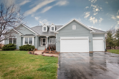 McHenry Single Family Home Contingent: 518 Bluffs Edge Drive