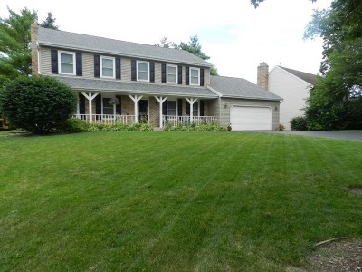 Algonquin Single Family Home Contingent: 1485 Spring Hill Drive