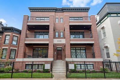 Cook County Condo/Townhouse For Sale: 2219 North Bissell Street #2N