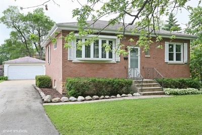 Hinsdale Single Family Home For Sale: 630 Mills Street