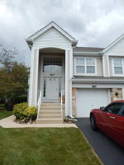 Carol Stream IL Condo/Townhouse For Sale: $214,900