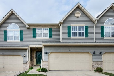 East Dundee Condo/Townhouse Contingent: 207 Dunridge Circle
