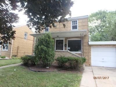 Evergreen Park Single Family Home For Sale: 9425 South Sacramento Avenue