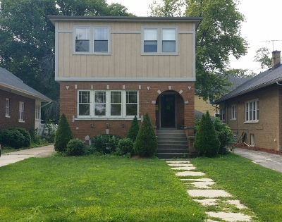 River Forest Single Family Home For Sale: 7621 Washington Boulevard