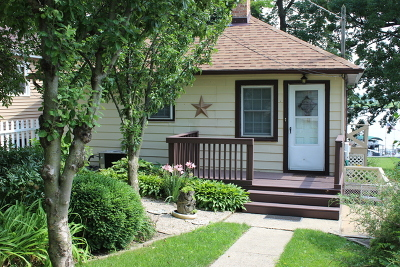 Fox Lake Single Family Home For Sale: 511 Pistakee Parkway