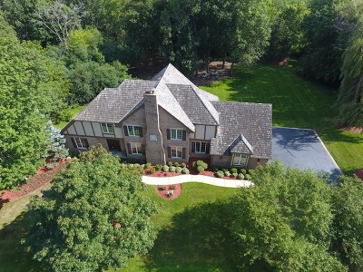 Hawthorn Woods Single Family Home For Sale: 44 Old Lake Road