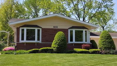 Elmhurst Single Family Home For Sale: 412 East Allison Street