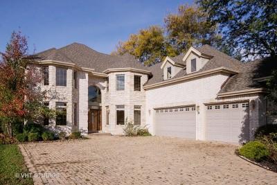 Homer Glen Single Family Home For Sale: 15930 South Crystal Creek Drive