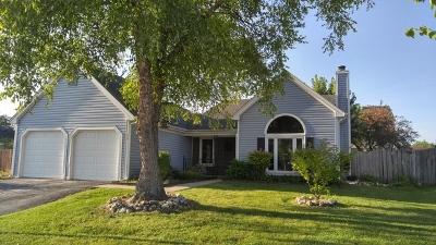 Streamwood Single Family Home For Sale: 15 Fillmore Lane