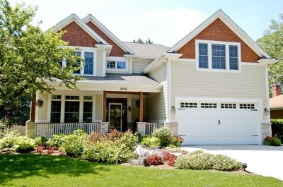 Downers Grove Single Family Home For Sale: 1405 Gilbert Lot 2 Avenue