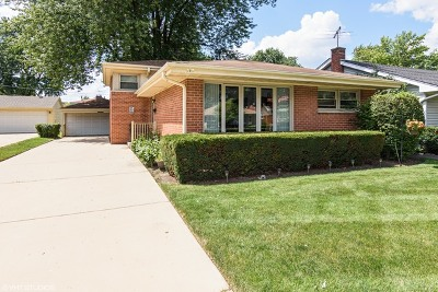 Mount Prospect Single Family Home Price Change: 410 South Pine Street