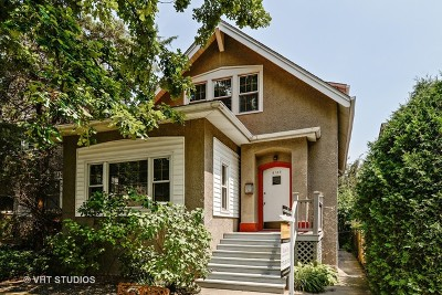 Cook County Single Family Home Contingent: 6123 North Paulina Street