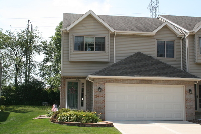 Plainfield Condo/Townhouse For Sale: 23057 Judith Drive