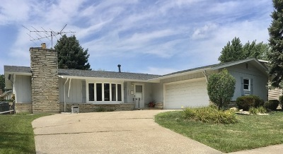 Oak Forest IL Single Family Home For Sale: $164,900